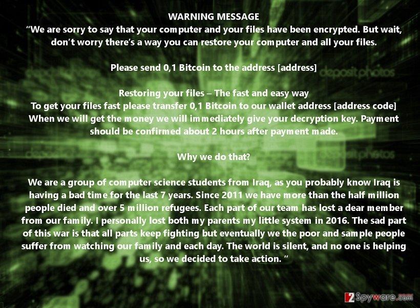 .killedxxx file extension virus