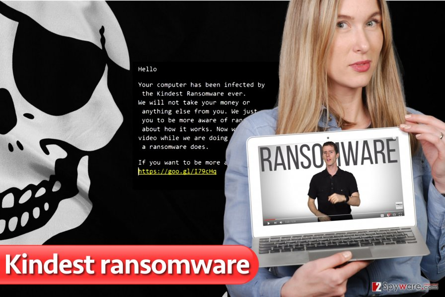 Kindest ransomware virus