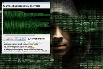 KingOuroboros ransomware