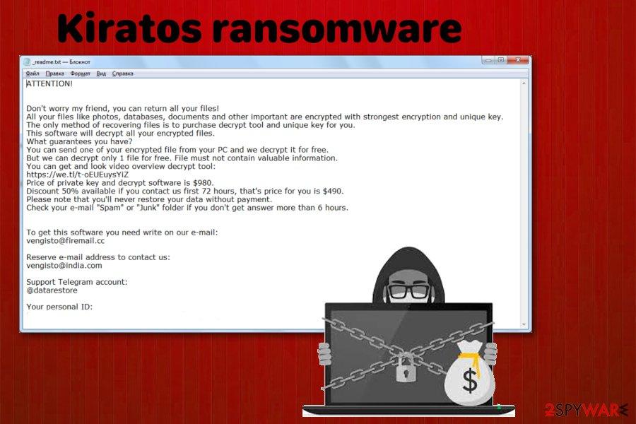 Kiratos ransomware