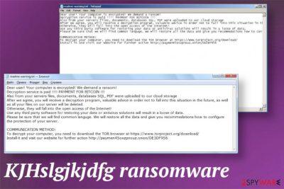 KJHslgjkjdfg ransomware