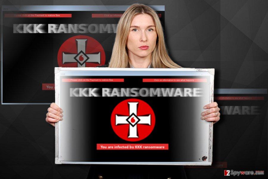 KKK ransomware sample
