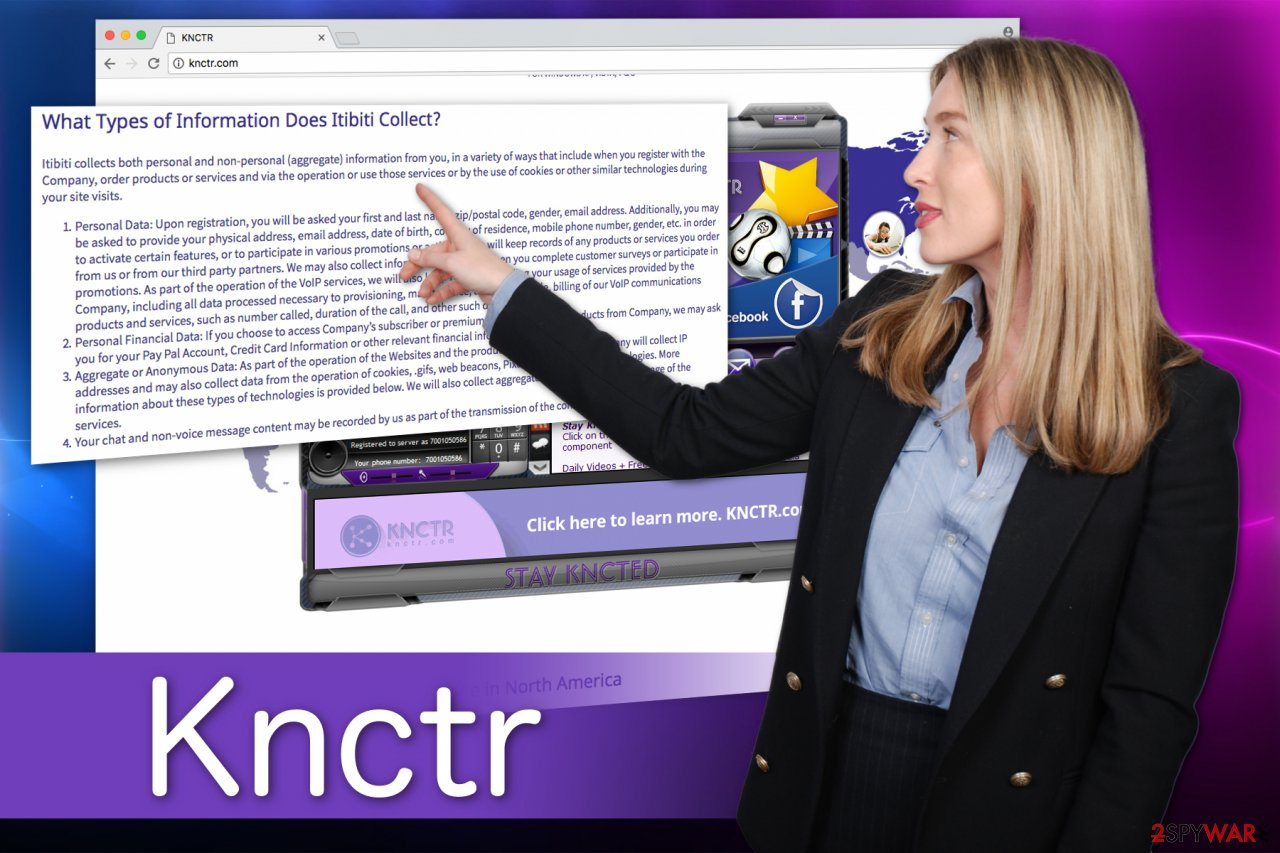Knctr program illustration