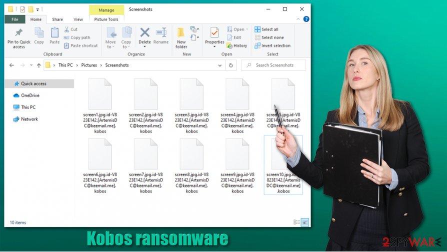 Kobos ransomware virus