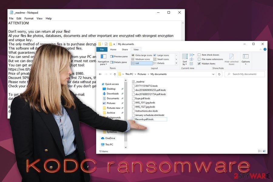 KODC ransomware virus
