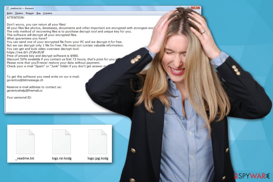 Kodg ransomware virus