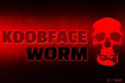 Koobface worm infection