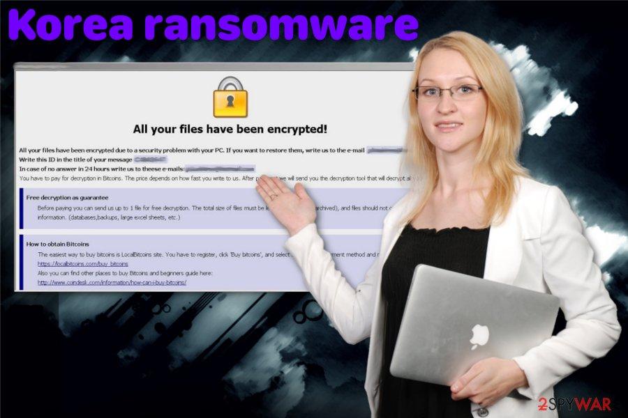 Korea ransomware virus