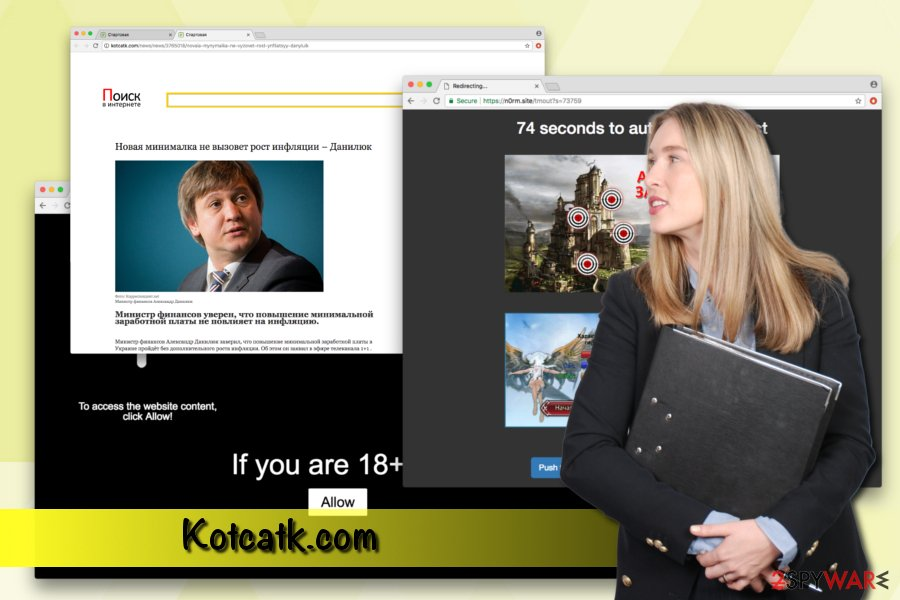Kotcatk.com virus