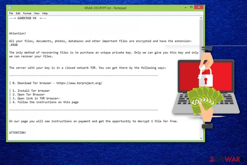 Remove Krab ransomware (Removal Instructions) - updated Sep 2019