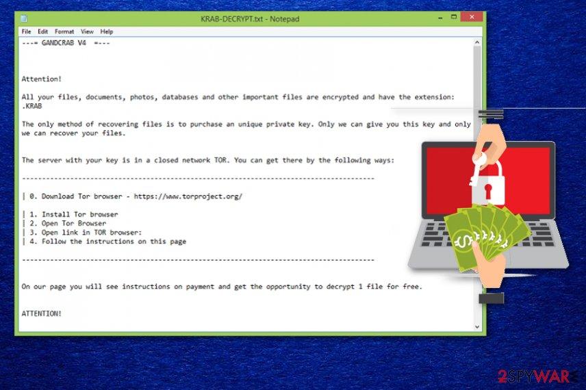 Krab ransomware