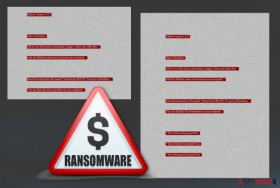 Kraken Cryptor 2.2 ransomware virus