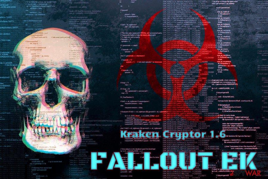 Kraken Cryptor uses Fallout EK