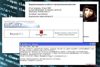 KRIPTOVOR ransomware