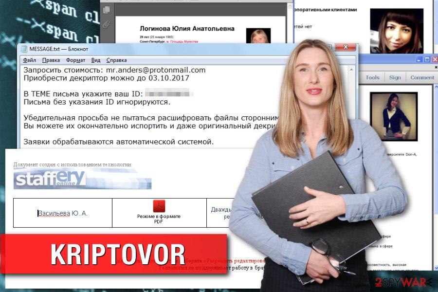 KRIPTOVOR virus