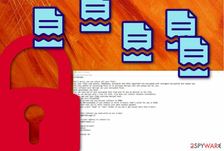 Krusop ransomware virus