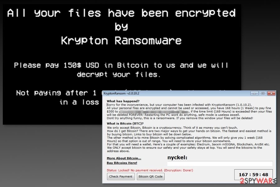 Image of Krypton ransomware