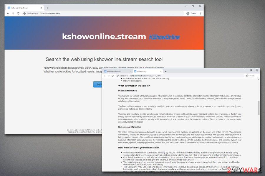 Kshowonline hijack