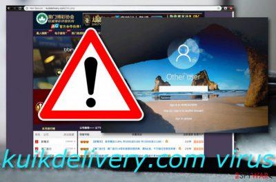 Kuikdelivery.com malware