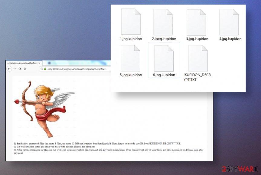 Kupidon ransomware