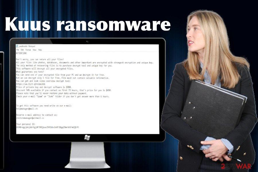 Kuus file-encrypting virus