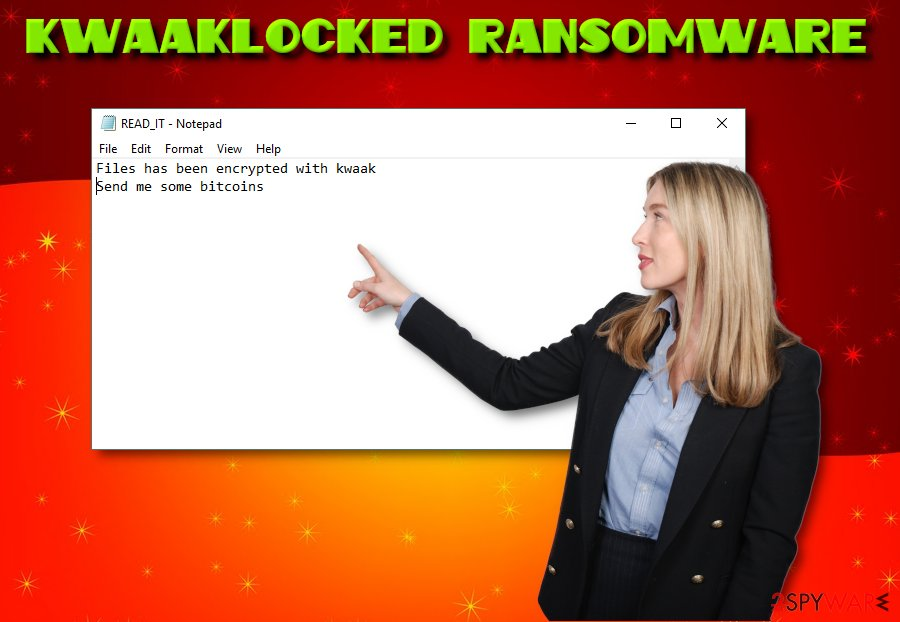 KwaakLocked virus