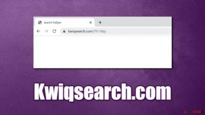 Kwiqsearch.com browser hijacker