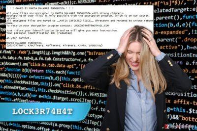 L0CK3R74H4T ransomware virus