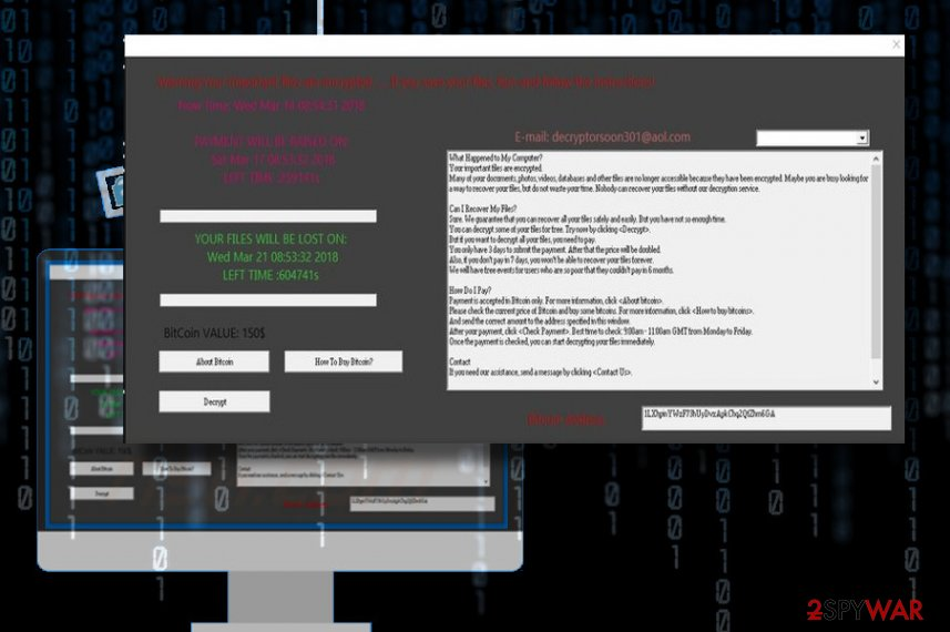 L0cked ransomware appends .lckd file extension to personal files