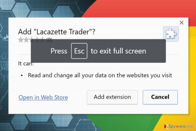The picture of Lacazette Trader extension