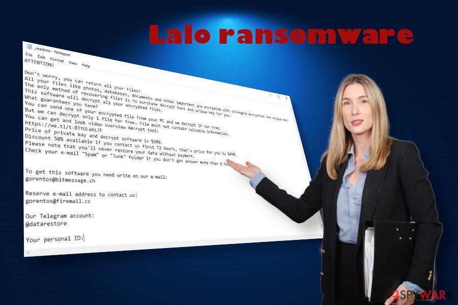 Lalo ransomware attack