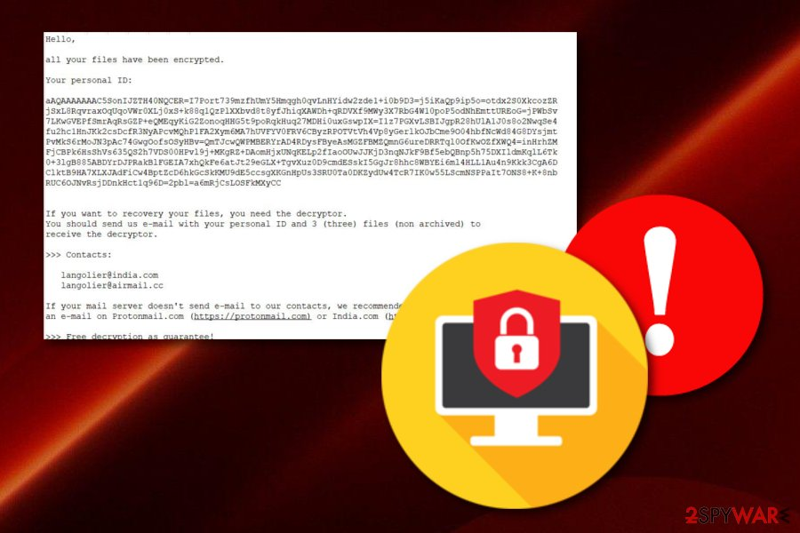 Remove Langolier ransomware (Removal Instructions) - Virus Decryption