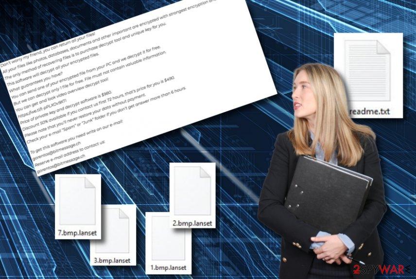Lanset ransomware