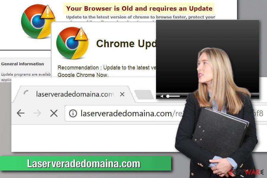 Laserveradedomaina.com virus illustration
