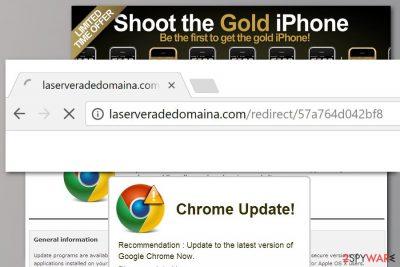 Laserveradedomaina.com redirect example
