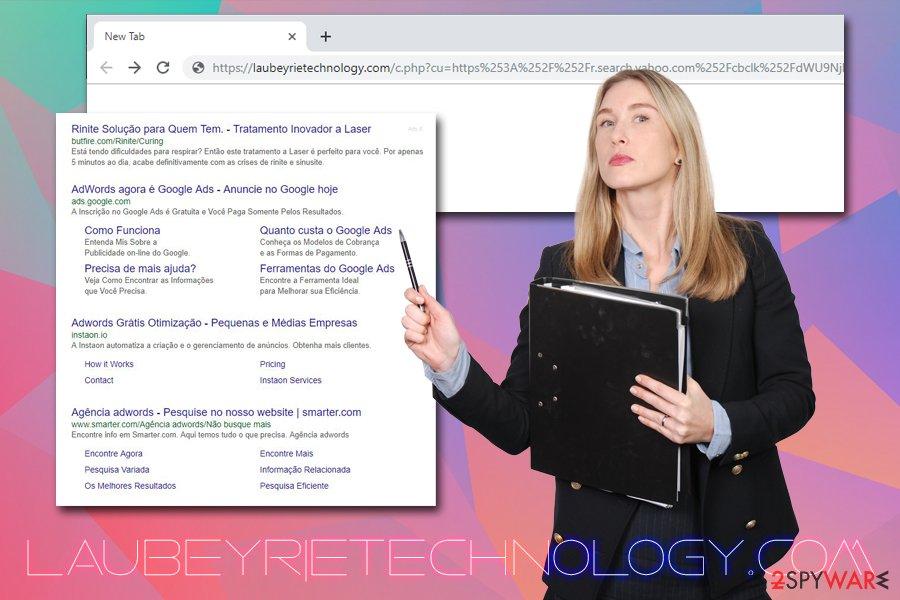 Laubeyrietechnology.com virus