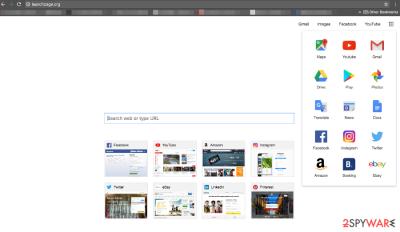 Launchpage.org virus image