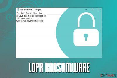 LDPR ransomware