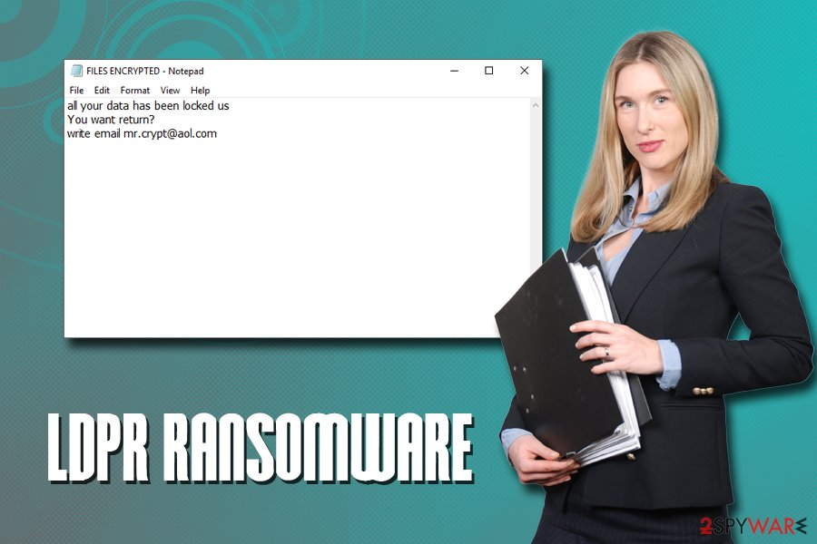 LDPR ransomware virus