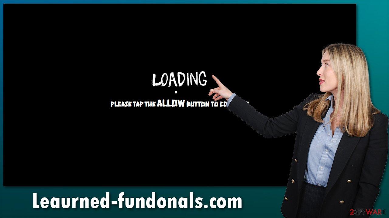 Leaurned-fundonals.com ads