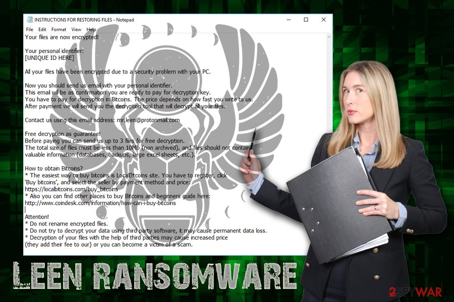 Scarab-Leen ransomware