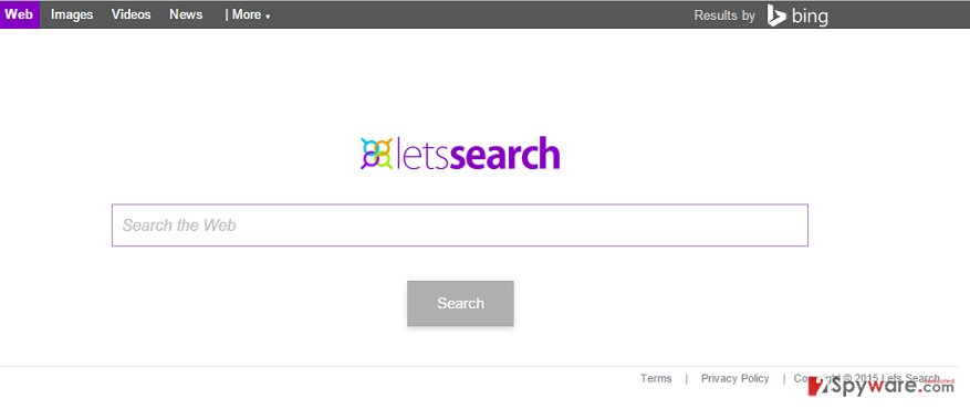 Letssearch.com redirect