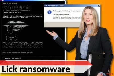 Lick ransomware version