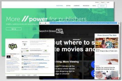 Example of lijit.com adware