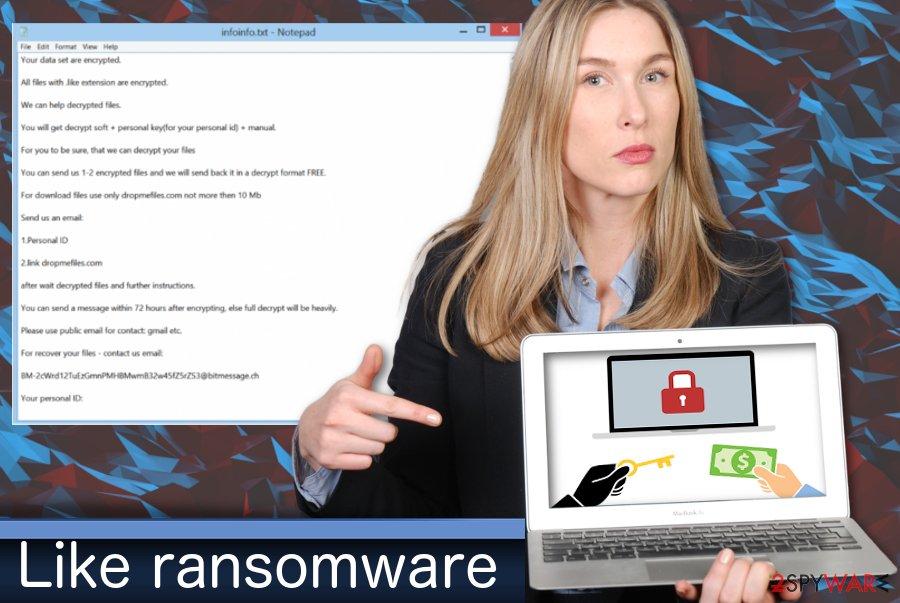 Like ransomware