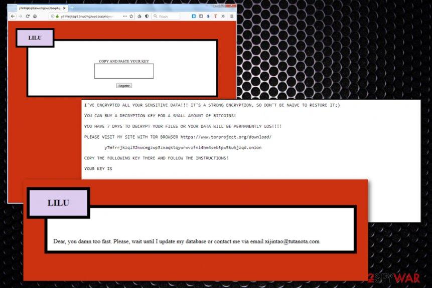 Lilu ransomware
