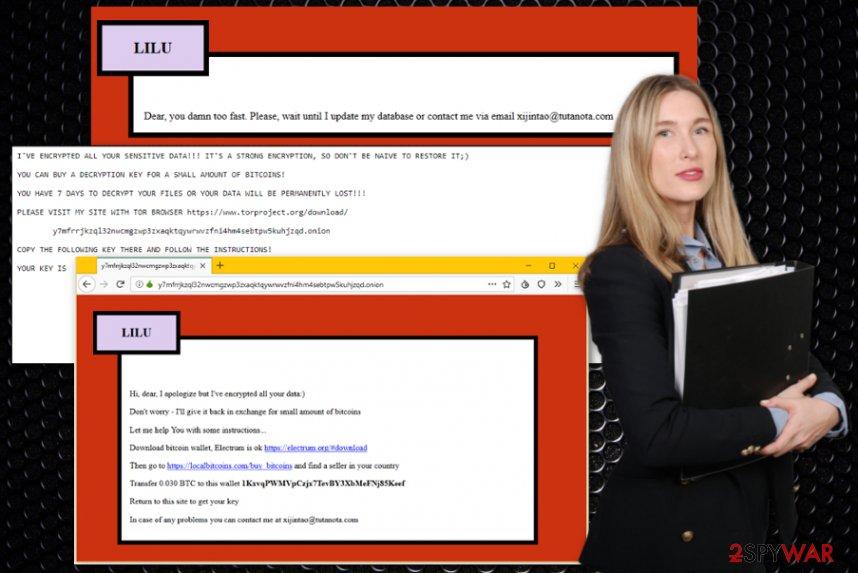 Lilocked ransomware virus