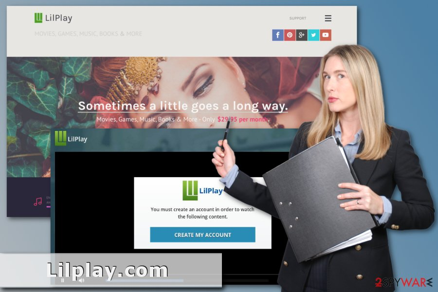 Image of Lilplay.com scam