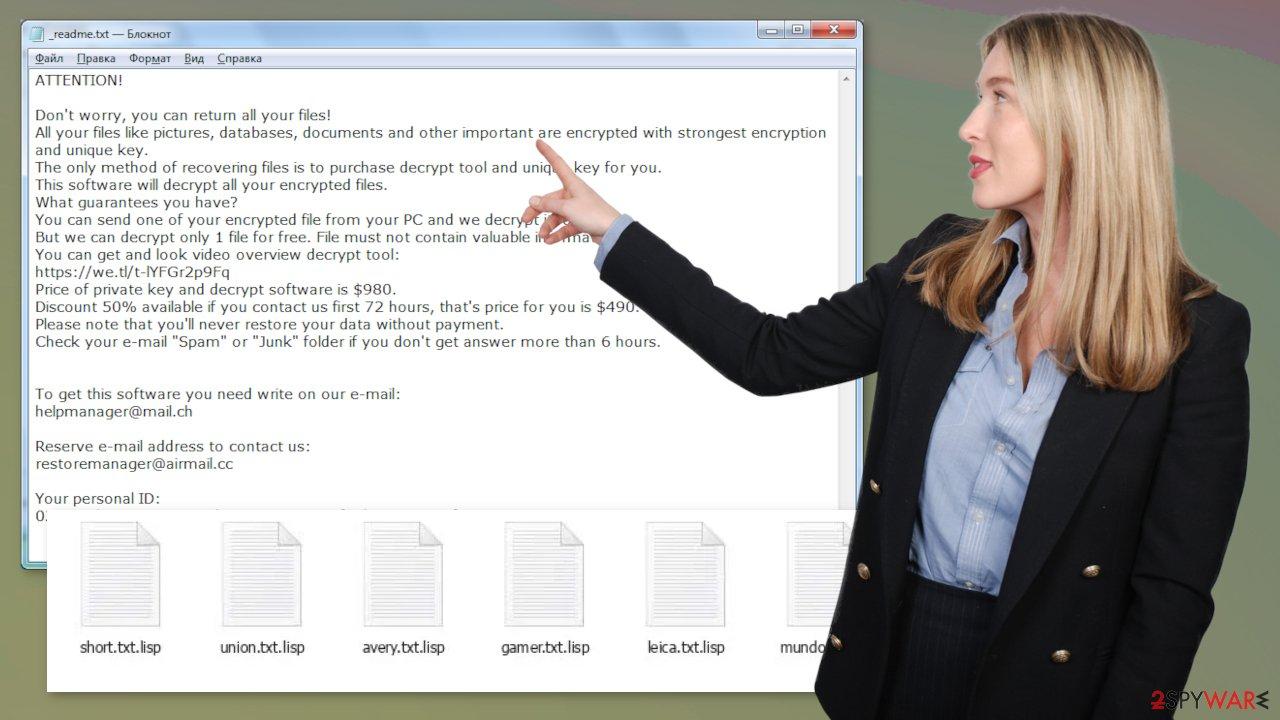 Lisp file virus