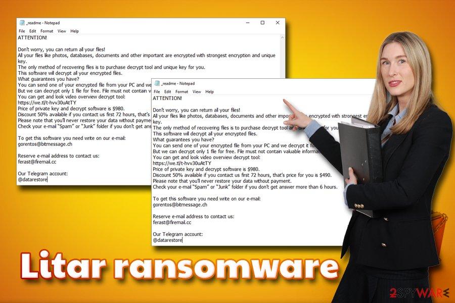 Litar ransomware virus